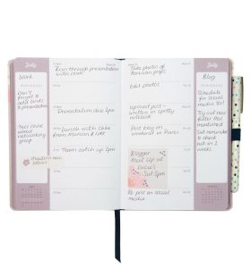 Busy B 2017 Busy Life Diary - Floral - Inside Pages