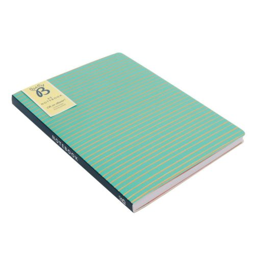 Green A5 Notebook by BusyB