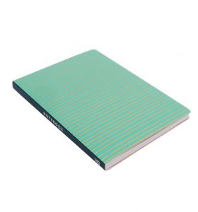 Green A5 Notebook by BusyB - Back Cover