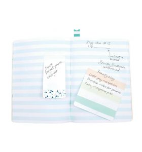 Green A5 Notebook by BusyB - Inside Notes