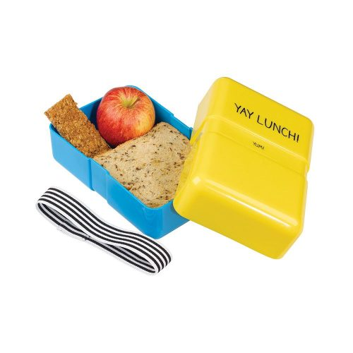 Happy Jackson Lunch Box 'Yay Lunch' - Open