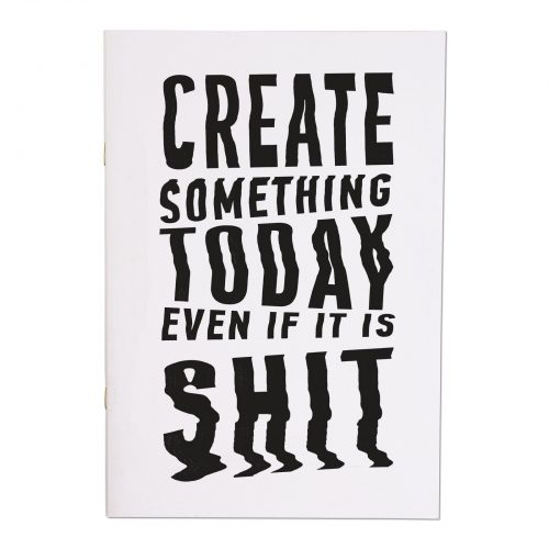 Create Something Today A4ish Notebook