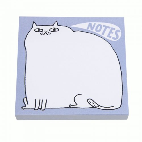 Cat Notes Post It Notes