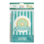A5 Scented Sketchpad with Pencil - Doughnut
