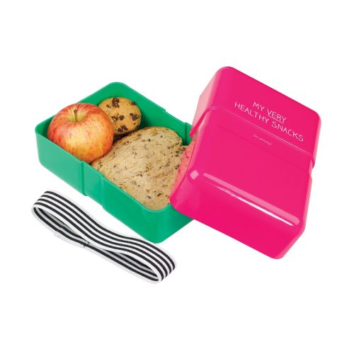 Happy Jackson Lunch Box 'Healthy Snacks' - Open