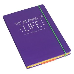 Happy Jackson A5 Notebook 'Meaning of Life'