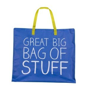 Happy Jackson Storage Bag – 'Great Big Bag of Stuff'