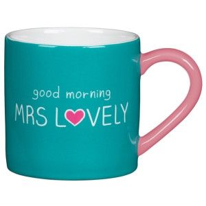 Happy Jackson Mug 'Mrs Lovely'