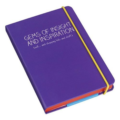Happy Jackson A6 Notebook 'Gems of Insight'