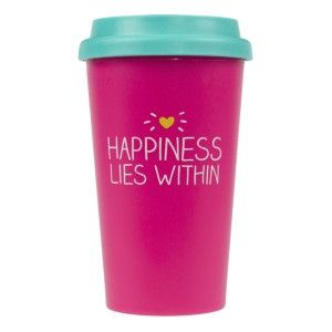 Happy Jackson Travel Mug 'Happiness'