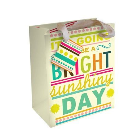 Say So Bright Sunshine - Small Gift Bag