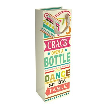 Crack Open a Bottle - Bottle Bag