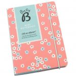 Busy B A6 Pink Floral Notebook
