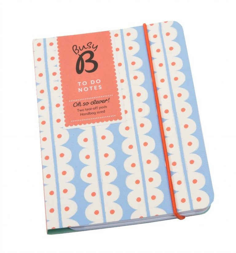 Busy B To-Do Notebook