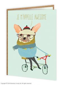 Je M'Apelle Awesome Greeting Card