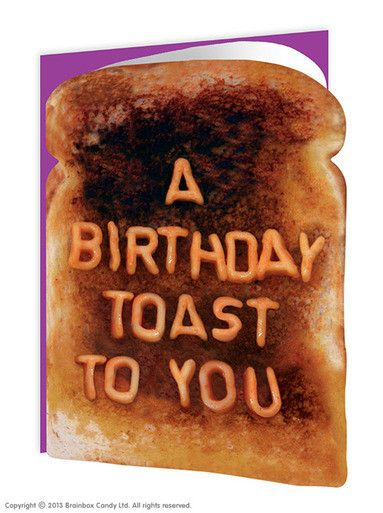 Toast to You Greeting Card
