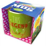 This Legend is Thirsty Mug With Packaging