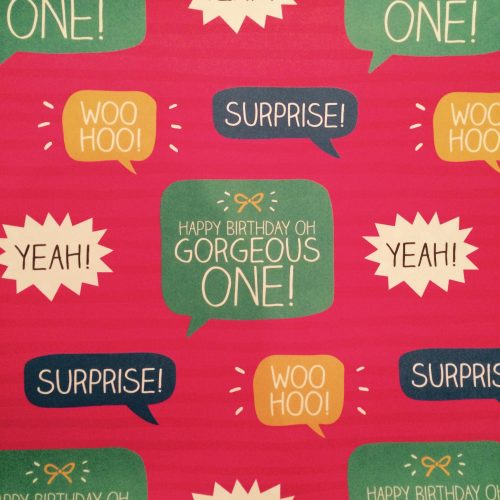 Happy Jackson Gorgeous One Gift Wrap