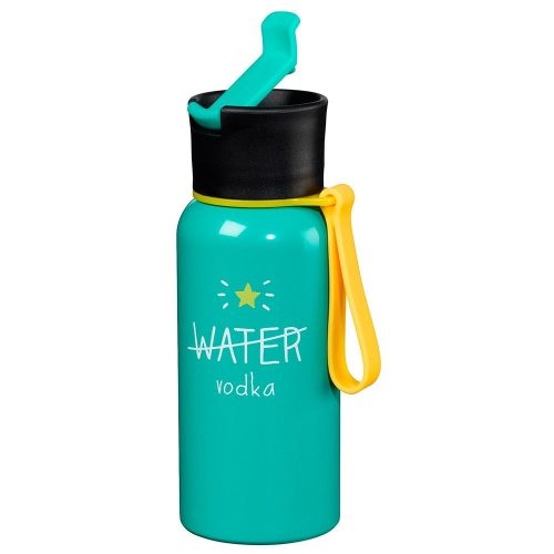 Happy Jackson 'Water/Vodka' Water Bottle - Front