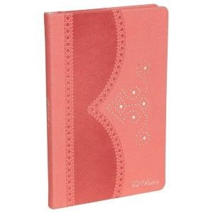 Ted Baker A5 Brogue Notebook – Coral