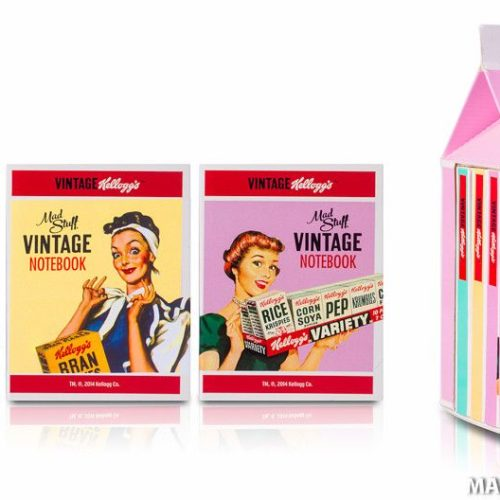 Kelloggs Mini Notebook Set