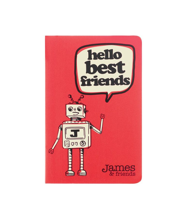 Mini Jotter - Hello Best Friends