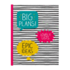 Happy Jackson Large Jotter 'Big Plans' - Small Image