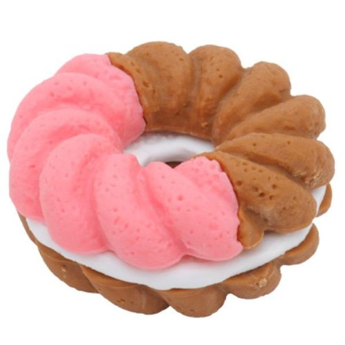 IWAKO Eraser - Doughnut - Pink and Brown