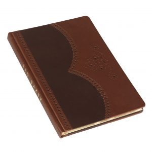 Ted Baker A5 Brogue Notebook – Brown