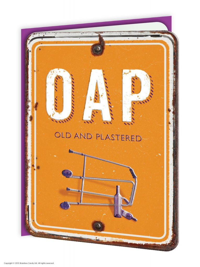 OAP Greeting Card