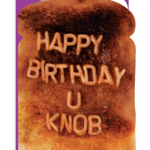 Happy Birthday Knob Greeting Card