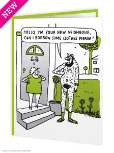 Borrow Some Clothes Greeting Card