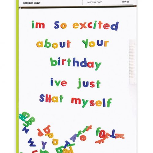 Shat Myself Greeting Card