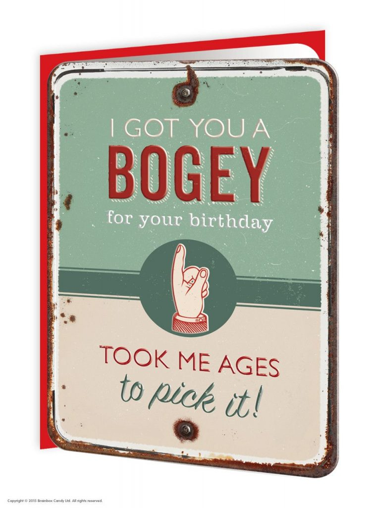 Got You a Bogey Greeting Card