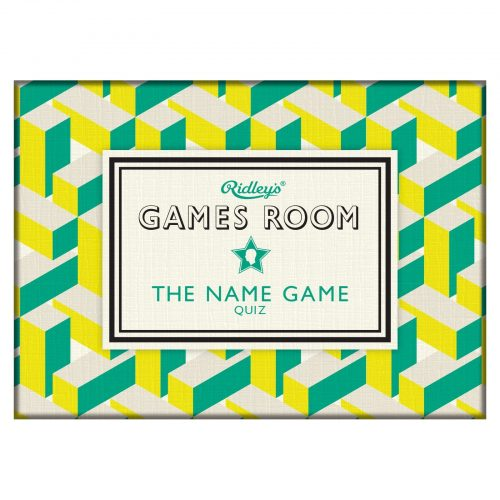 Ridley's The Name Game - Box