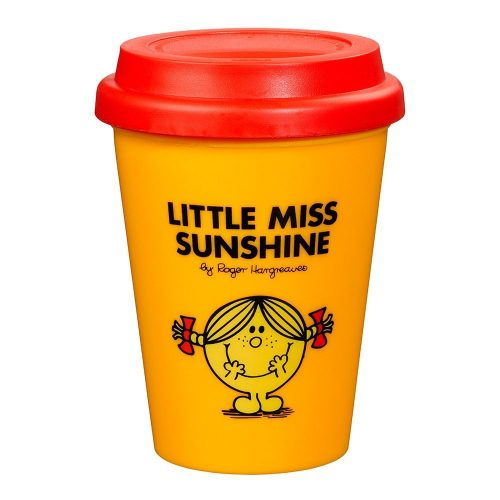 Yellow and Red Little Miss Sunshine Travel Mug