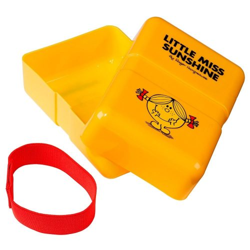 Yellow Little Miss Sunshine Lunch Box - Open