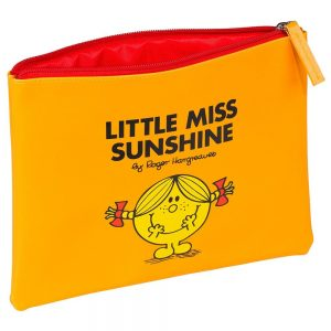 Yellow Little Miss Sunshine Pouch - Angled
