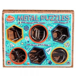 Ridley's Metal Puzzles Selection - Box Angled