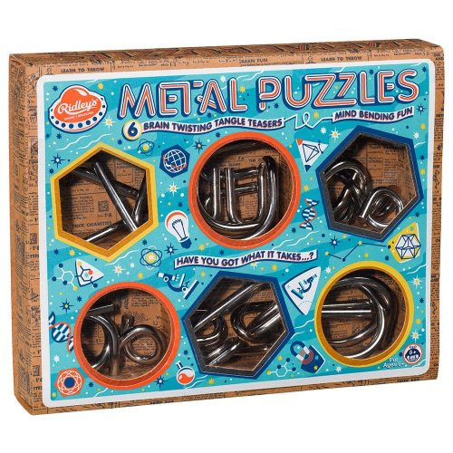 Ridley's Metal Puzzles Selection - Front Box