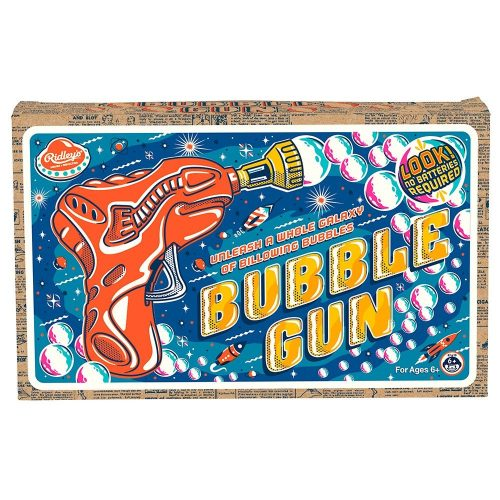 Ridley's Bubble Gun - Front Box