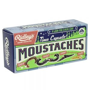 Ridley's Time Capsule Moustaches Box