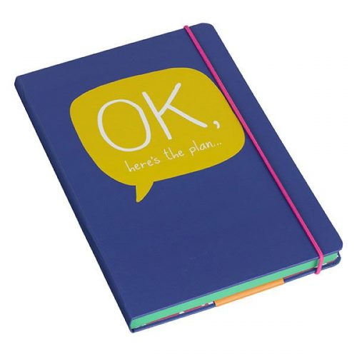 Happy Jackson A5 Notebook 'OK'