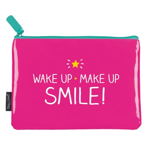 Happy Jackson Make Up Bag 'Make Up, Wake Up'